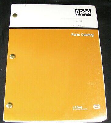 Case 480d 480ll Construction King Loader Backhoe Tractor Parts Manual Book Oem
