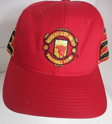 Manchester United Hat England Football Soccer Club Snapback Cap
