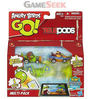 ANGRY BIRDS GO TELEPODS MULTI-PACK - TOYS BRAND NEW FREE DELIVERY