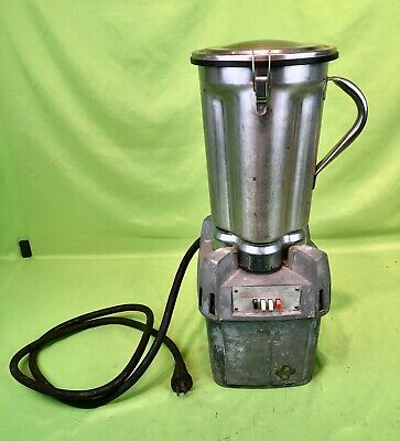 Waring Cb-5 Commercial Heavy Duty Tabletop Blender W Stainless Steel Pitcher