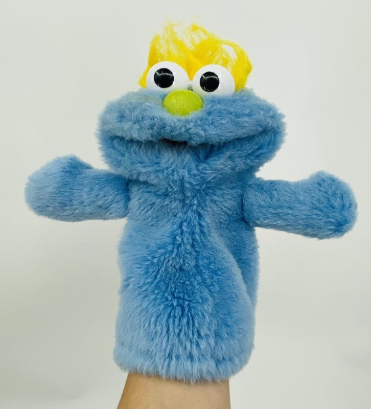 Vintage SESAME STREET THE MUPPETS GO TO BED FRED Hand Puppet