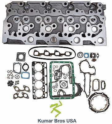 New Kumar Bros Usa Bobcat 341 Kubota V2003 Bare Cyl Head Full Gasket Set