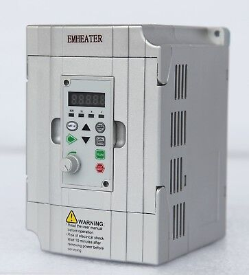1.5kw Frequency Drive Inverter Converter Vfd Single Phase 220v240v 2hp 7a New