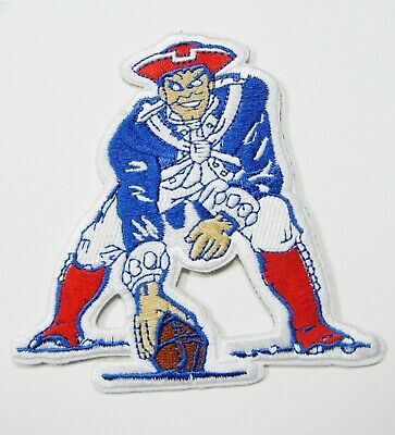LOT OF (1) NFL NEW ENGLAND PATRIOTS HIKER MAN EMBROIDERED PATCHES # 36](Nfl New England)