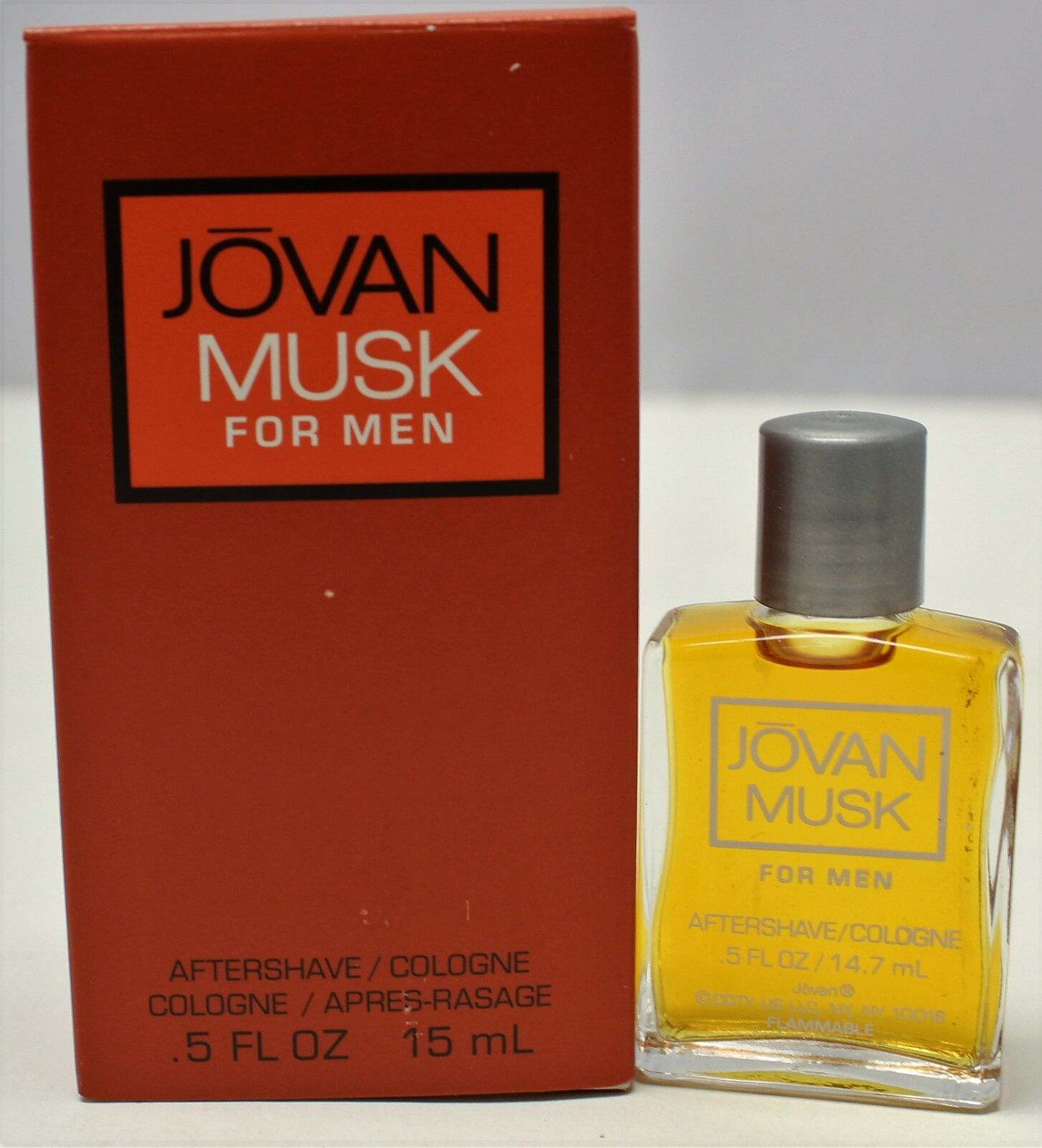 Jovan Musk After Shave by Jovan, .5 oz Aftershave/Cologne fo
