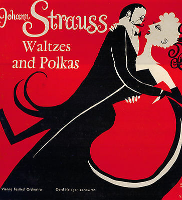 Johann Strauss, Waltzes & Polkas LP.Concert Hall AM 2134