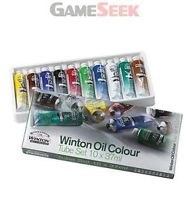 Winsor and Newton Winton Oil Colour Paint Starter Set 10 x 37ml