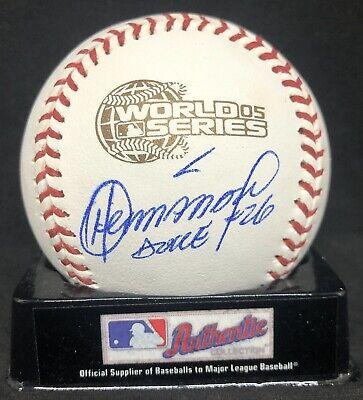 ORLANDO HERNANDEZ AUTOGRAPHED SIGNED OFFICIAL 2005 WORLD SERIES BASEBALL JSA COA Orlando Hernandez Autographed Baseball