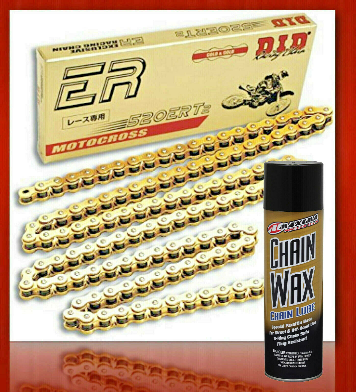 Maxima 70-779203 Synthetic Ultimate Chain Care Kit