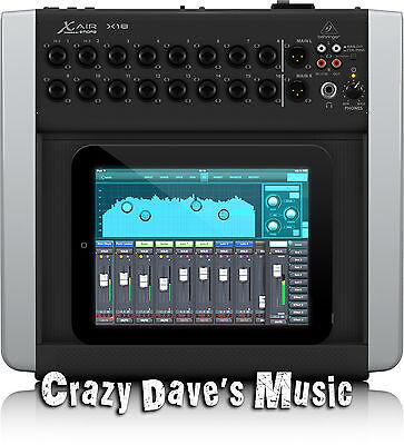Behringer X Air X18 18 Channel Digital Studio LIve Sound Recording Mixer
