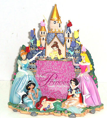 Disney Princess Cinderella Belle Ariel Photo Frame Picture Theme Parks New