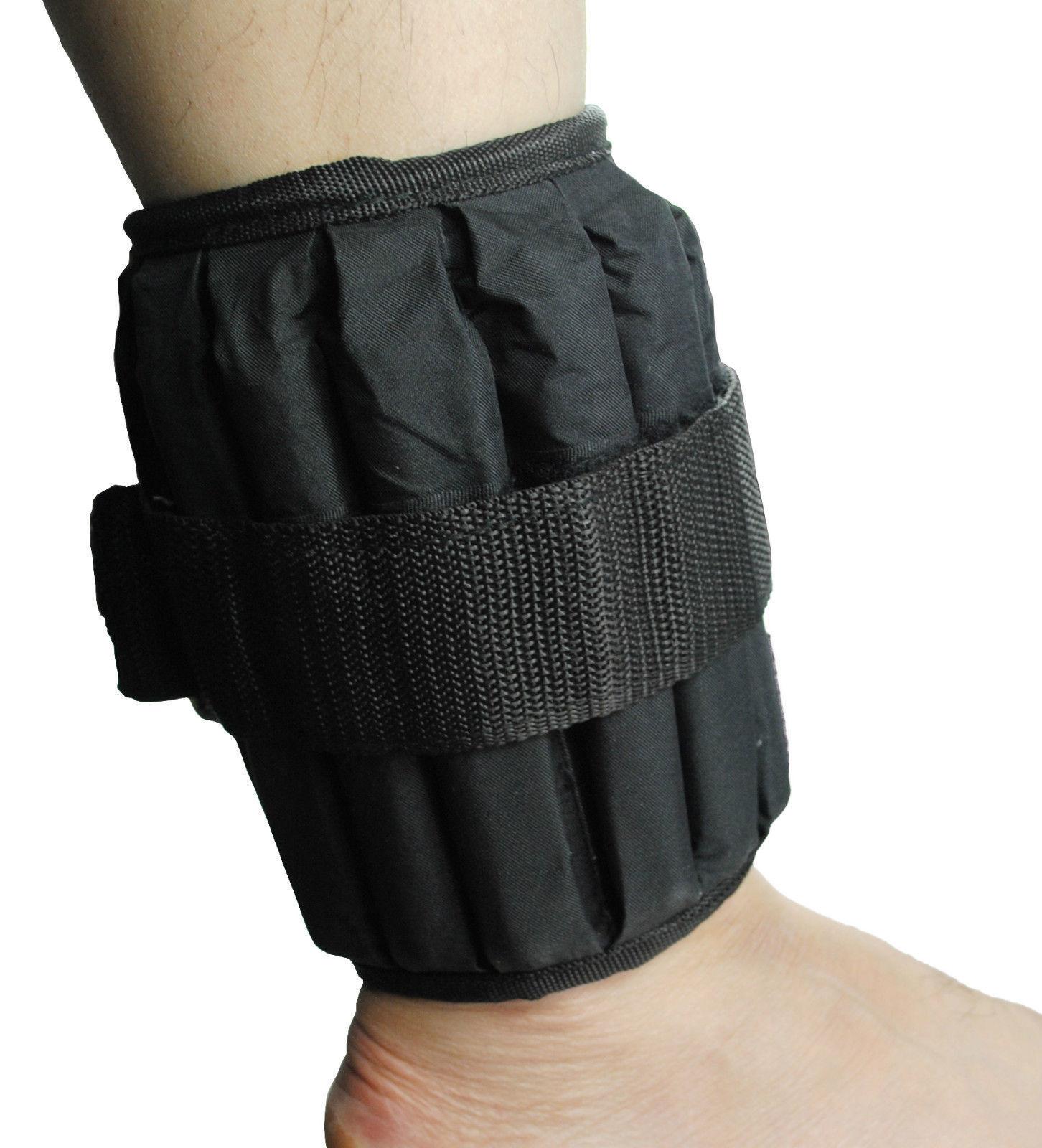 UK Warrior Verstellbar Knöchel Handgelenk Gewichte Fitness Laufen Joggen PAAR 10