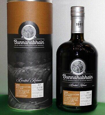 Bunnahabhain Manzanilla Cask Matured 2020 Scotch Whisky