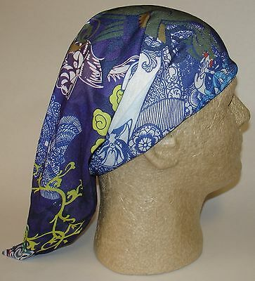 Tropical Flower Floral Chemo Therapy Hair Loss Head Wrap Cover Turban Scarf Wig