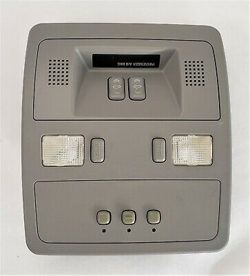 2006-2011 Cadillac STS Overhead Console Map Light W/Sunroof Homelink Switch