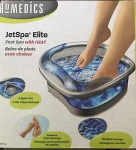 Homedics  Jetspa Elite with Heat - NEW