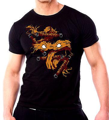 MICHAELANELO Ninja Turtle T-shirt - Mens Black TMNT T-shirt New 2016 Movie (Ninja Turtle T Shirt)