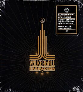 RAMMSTEIN - VOLKERBALL DVD + CD 140 MINUTE LIVE DVD + 75 MINUTE CD