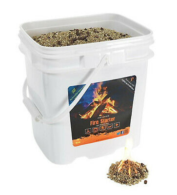 InstaFire 4 Gallons Pellets Emergency Fire and Fuel Camping Gear