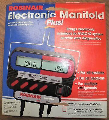 Robinair Electronic Manifold Plus 41800
