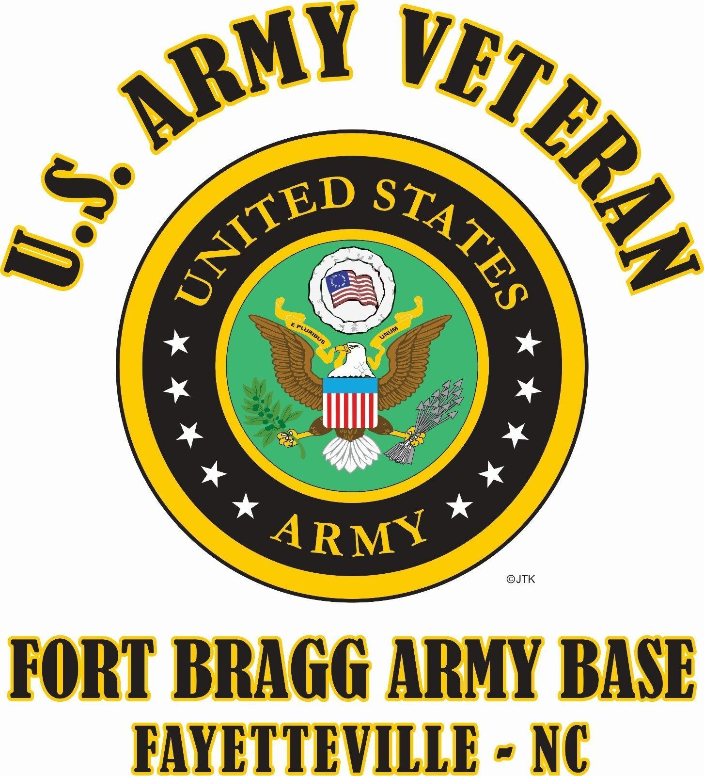 Fort Bragg Army Base Fayetteville-ncu.s.army Veteran W/ar...
