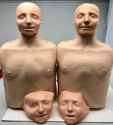 X2 Laerdal Little Anne Torso Cpr Adult Manikin First Aid Training Nursingemt