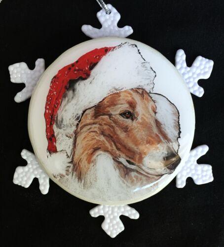 Collie Dog - Christmas Ornament