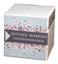 Tabletopics Conversations Cards, Getting Married Trio, New and Sealed