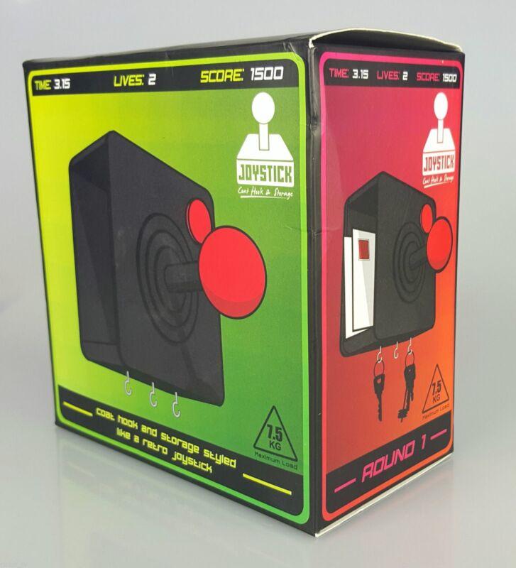 Retro Gaming Joystick Coat Hook Hanging Key Hanger Letter Storage Novelty Gift