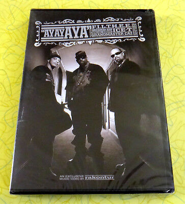 Ay Ay Aya ~ New DVD Movie ~ Ice-T Pete Rock Hip Hop Music Video  Grandmaster Caz