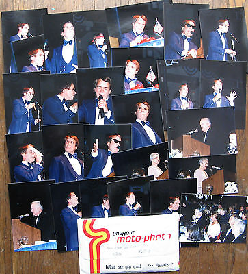 Rich Little - Feb. 1986 NHL All Star Game Dinner - Group of Photos
