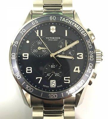 *Used* Victorinox Swiss Army Chrono Classic Blue Dial Men's Watch 241497