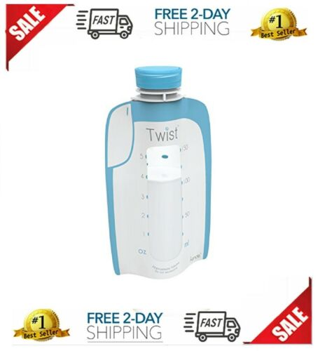 Twist Pouch Breast Milk Storage Bags For Pumping Freezing and Feeding Bottle New