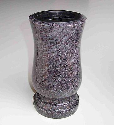 Grabvase Taille XL Granit Orion Friedhofsvase Grabmalvase Grabschmuck Grabvasen