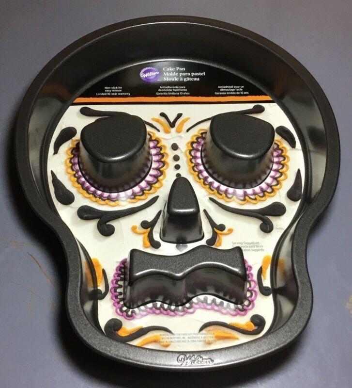 Wilton Fluted Skull Cake Pan NEW