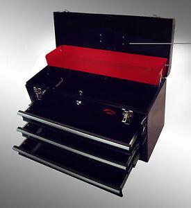 LARGE-3-DRAWER-TOOL-CHEST-TOOL-BOX-KEY-LOCK-US-Ball-Bearing-Slides