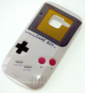 White Gameboy Designs Hard Cover Case Skin for for Nokia C3 C3-00