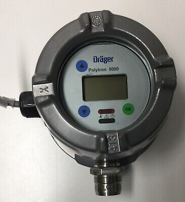 Drager Polytron 50005200 Detection Of Combustible Gases And Vapors-pn4544120
