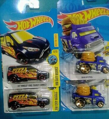 Hot Wheels Treasure Hunt ~Lot of 4~