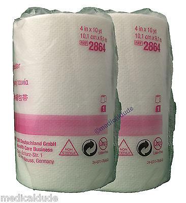 10 Yd Erste Hilfe (3M 2864 Medipore H Soft Cloth Surgical Tape 4