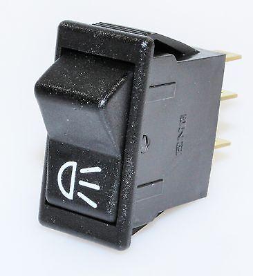 ENG Schalter Wippenschalter 111035 Lichtschalter 2 Schaltkreise Kippschalter 12V