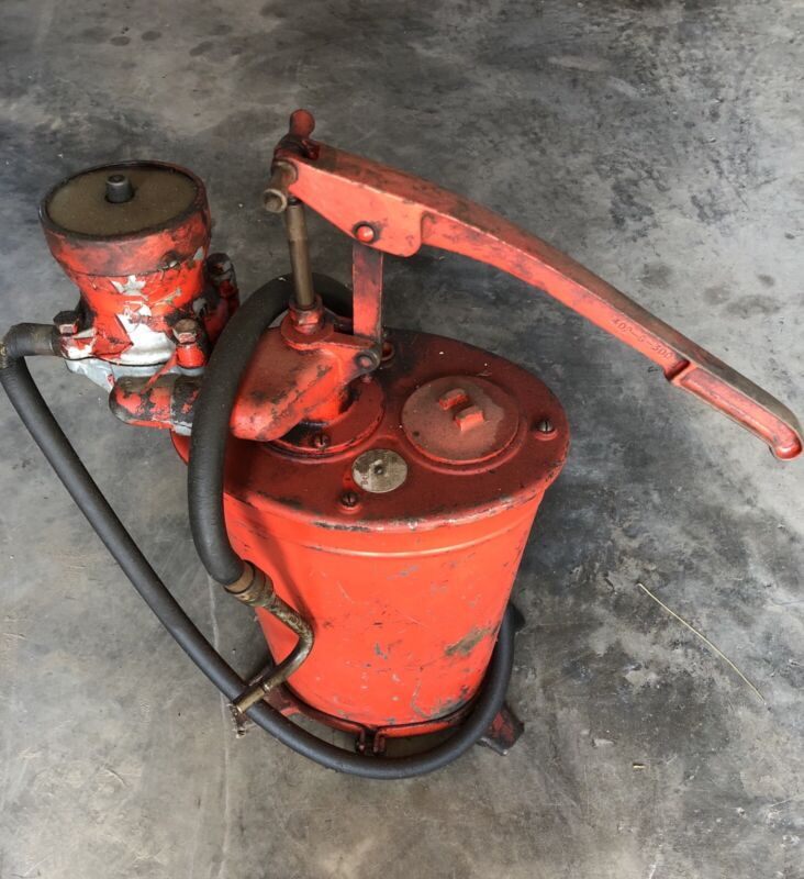 Vintage Bennett Gear Oil Dispenser Pump With Dial - PICKUP ONLY