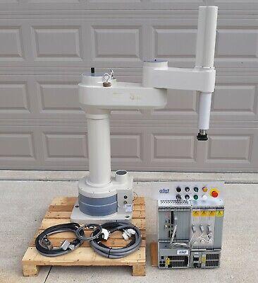 Adeptone-mv 841 4-axis Scara Robot Mv-8 Controller Pa-4 Pwr Cassis Vfp Panel