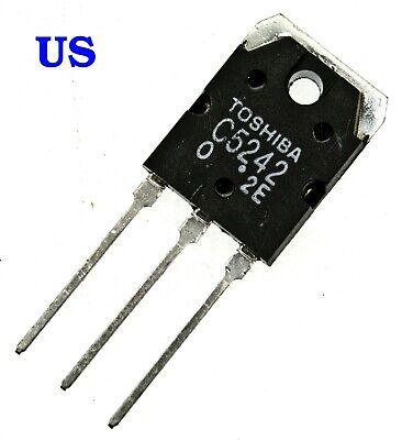 2sc5242 -o 2 Pcs Audio Transistor - From Usa