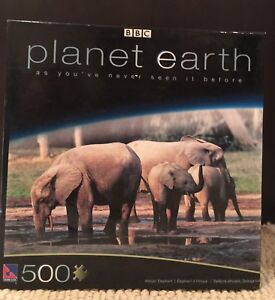 Planet Earth Elephant Puzzle - Unopened