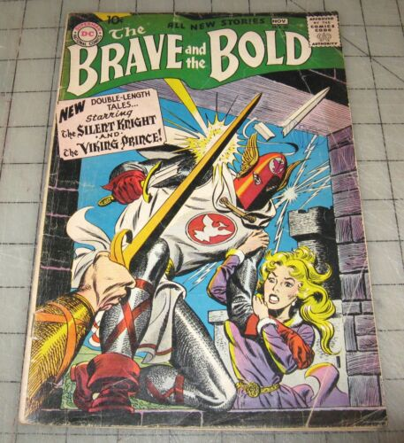 The BRAVE and The BOLD #20 (Nov 1958) Fair+ Condition Comic, Silent Knight