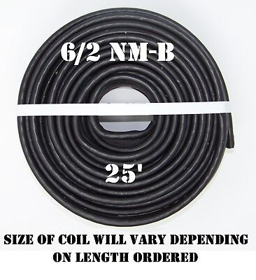 62 Nm-b X 25 Southwire Romex Electrical Cable