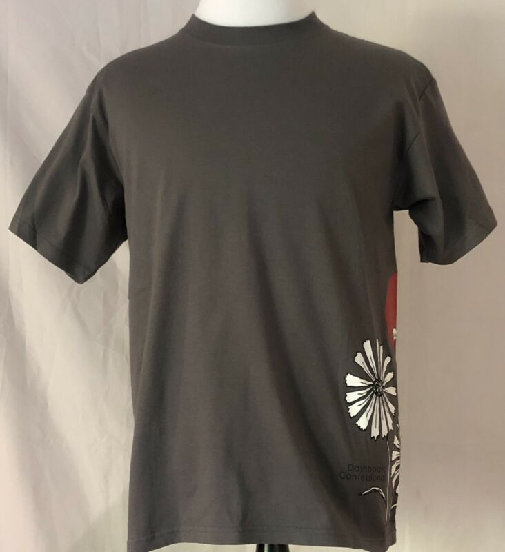 Dashboard Confessional 2006 Dusk To Summer Tour Gray Shirt Size Medium
