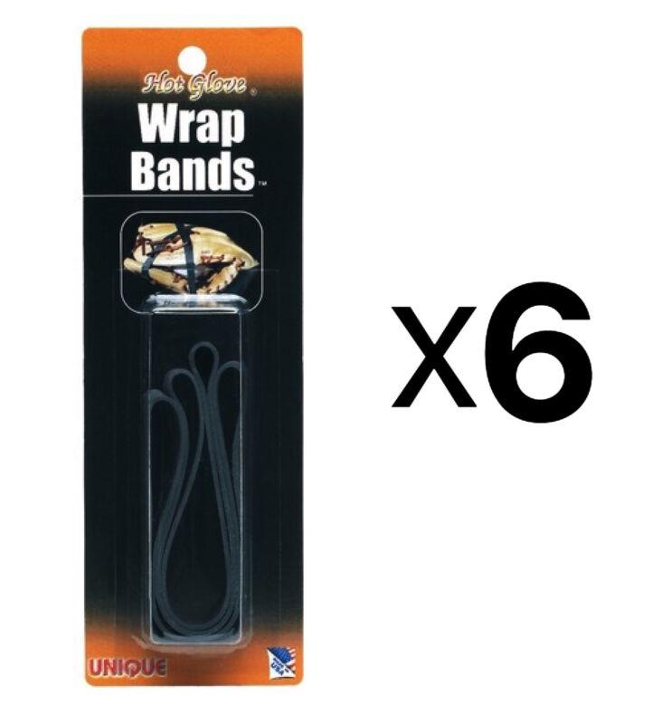 Unique Baseball-Softball Glove Wrap - Mitt Shape-Shaping Bands-2 Pack (6-Pack)