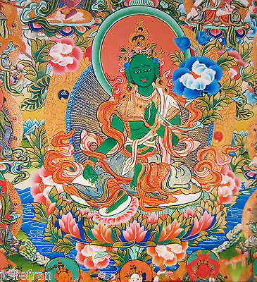 20 POST CARD SET BELOVED GREEN TARA TIBETAN BUDDHIST DEITY ACTIVE COMPASSION